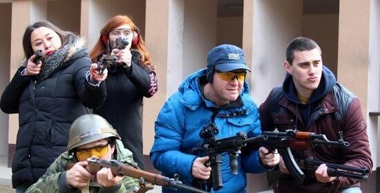 Střelba z armádních zbraní - Zabiják stips