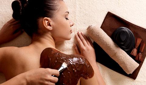Čokoládové masaže