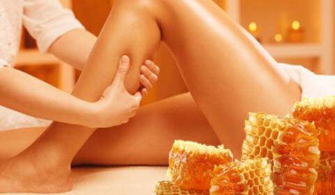 Medové masáže