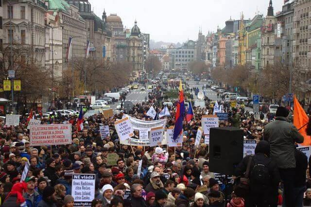revoluce 17 listopadu